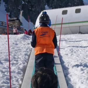 Dia de esquí en la estación de San Isidro